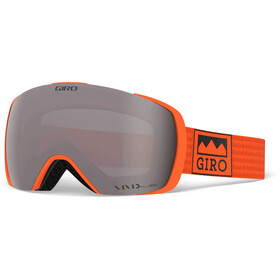Giro Contact Masque, orange alps/vivid onyx/vivid infrared
